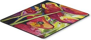 Caroline's Treasures Poppies Mouse Pad/Hot Pad/Trivet (JMK1173MP)