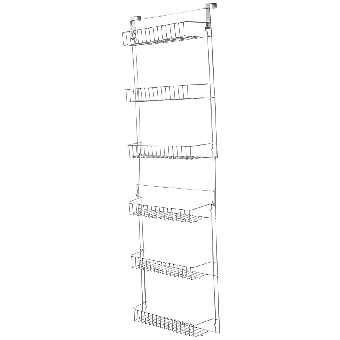 Lavish Home Closet Organizer with 6 Shelves, Over the Door Pantry Organizer and Bathroom Organizer by Lavish Home