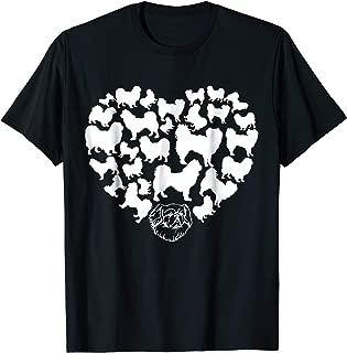 Tibetan Spaniel in my heart, Tibetan Spaniel Gifts T-shirt