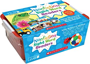 Nonfiction Sight Word Readers Classroom Tub Level B: Teaches the Second 25 Sight Words to Help New Readers Soar! (Nonfiction Sight Word Readers Classroom Tubs)