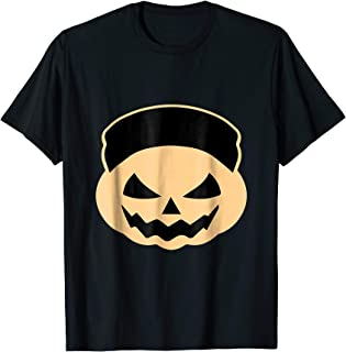 Funny Halloween Pumpkin T-shirt North Korea Kim Jong-Un