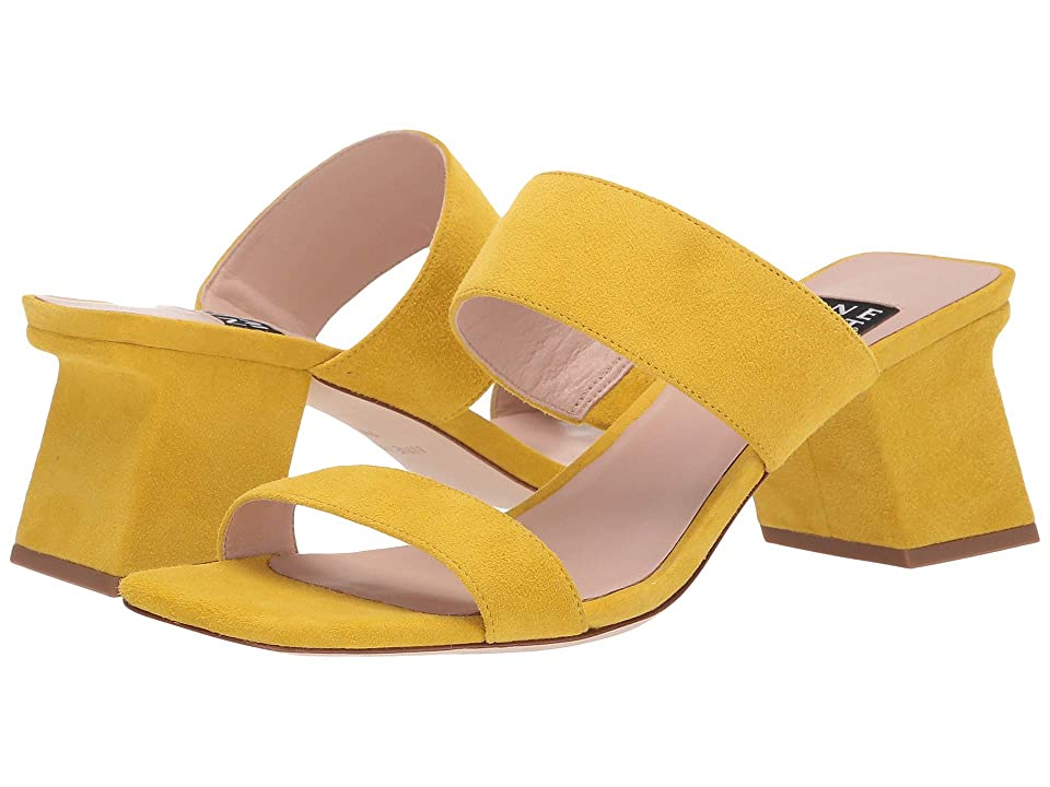 Nine West Churen 40 Heeled Sandal (Citrine Yellow) Women