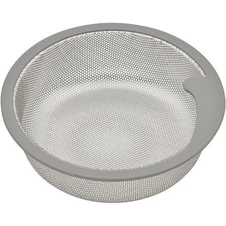 ガオナ 日曜日のお父さん シンク用 ステンレス製ゴミカゴ 排水口のゴミ受け (汚れにくい 錆びにくい 衛生的) GA-PB007