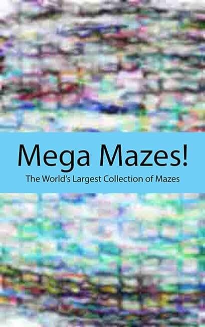 More Colorful Maze Art (English Edition)