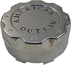 American Outlaw Wheels BC-671Z Chrome Custom Wheel Center Caps (1 CAP) NEW!