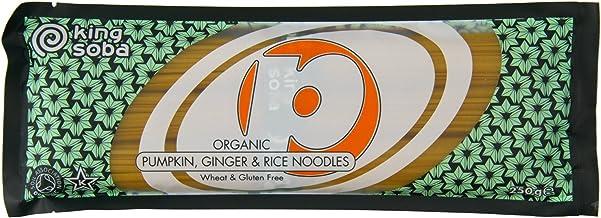 King Soba Rice Pumpkin & Ginger Noodles 250g
