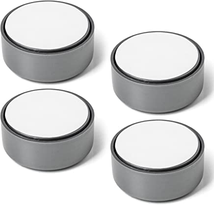 4er Set Möbelfuss GOLF Gleitfuss Sofafuss Sockelfuss Möbelgleiter grau verstellbar von SO-TECH