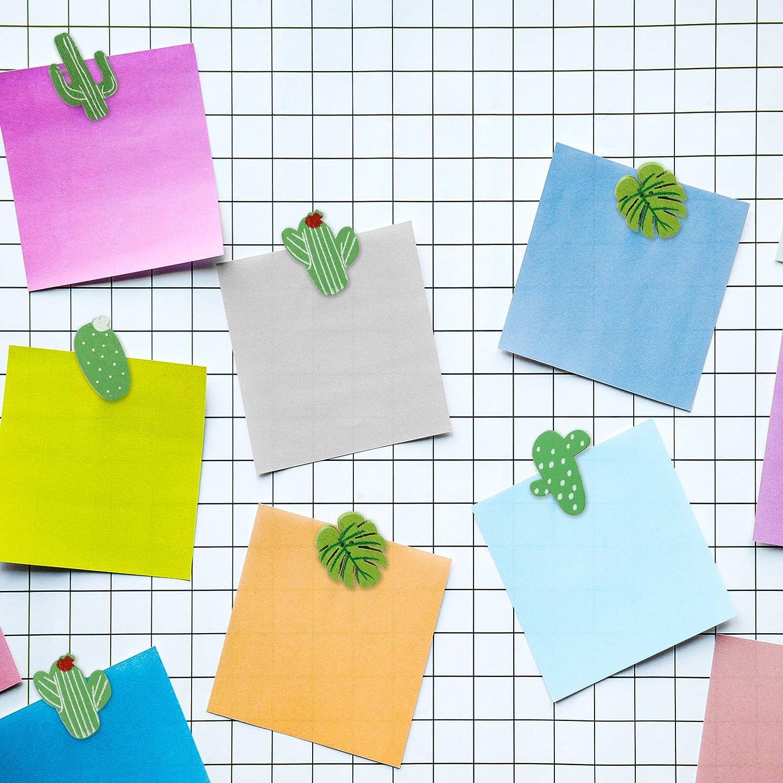 Bacheca o Bacheche di Sughero 30 Pezzi Mappe Puntine Palma di Cactus Pollice Foglia Puntine da Disegno Decorative per Foto Muro 30 Pezzi Puntine di Legno