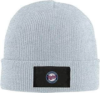 Minnesota Twins ミネソタ?ツインズ MLB ニット帽 帽子 ニット ロゴ グレー アウトドアファッション 登山ファッション ユニセックス キャンプ 登山