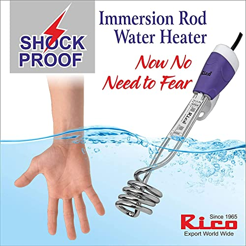Rico 1500 W Metal Water Heater Immersion Rod White
