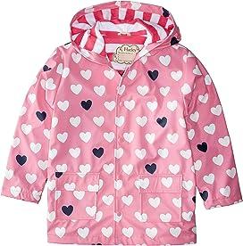b1d9ea901 Hatley Kids Color Changing Unicorns Splash Jacket (Toddler/Little ...