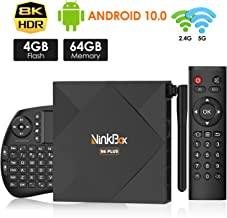Android TV Box 10.0, NinkBox TV Box Android【4G+64G】con