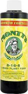 Monty's Growth Formula 8-16-8, 8 Oz