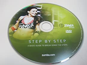 Zumba Fitness Step by Step DVD from the Exhilarate DVD set