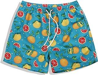 [XINXIKEJI] 短パン メンズ スポーツ 水着 サーフパンツ 海パン スイムパンツ ズボン メンズ おしゃれ ビーチパンツ 5分丈 花柄ポーツ ファッション ゆったり 通気 速乾 花柄 ショートパンツ 大きいサイズ S-3XL