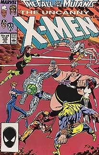 X MEN 225 VF-NM FALL OF THE MUTANTS COMICS BOOK