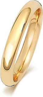 Anello Fede Nuziale Uomo/Donna 3mm in Oro giallo 9k (375) WJS188969KY