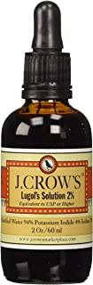J.Crow's Lugol's Iodine Solution, 2 oz., Twin Pack (2 Bottles)