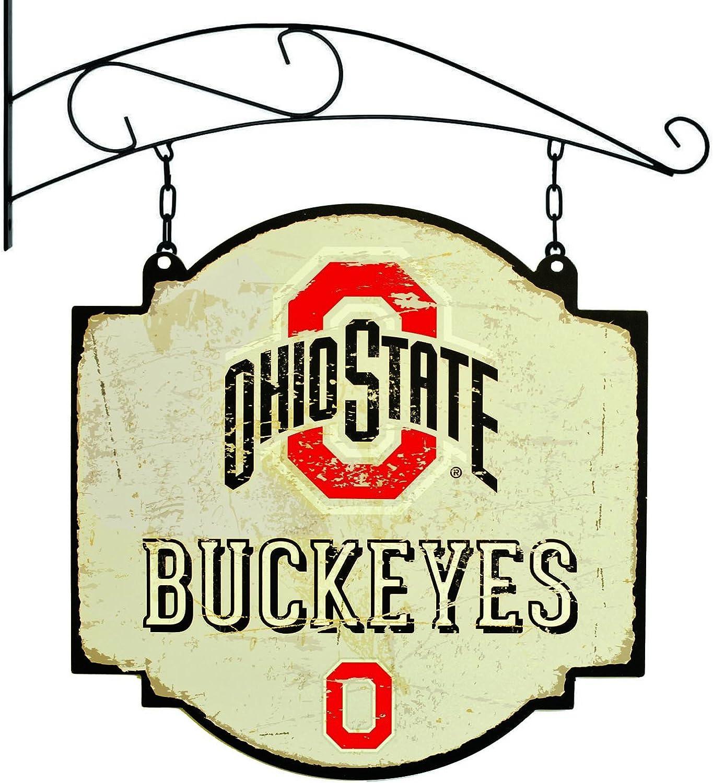 NCAA 11405 Ohio State University Vintage Sign, One Size, White