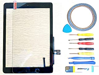 yayayahu New Replacement Parts for iPad 6 6th 2018 A1893 A1954 Glass Touch Screen Digitizer + Repair Tool Kit (Black)