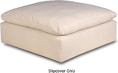 Amazon.com: WINOMO Round Floor Pillow Cushion Cotton Linen ...
