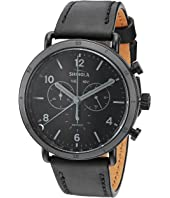 Shinola Detroit - Black Canfield Sport 45mm - 20121928