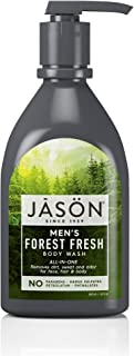 JASON Men's Forest Fresh All-In-One Body Wash, 30 Ounce Bottle