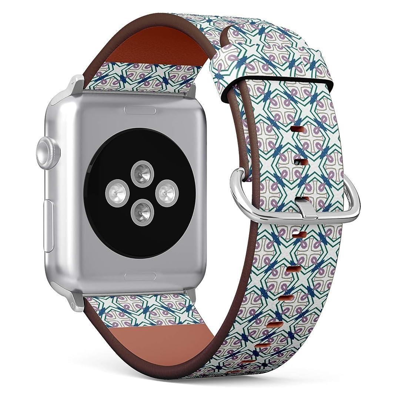 爆発物聴覚団結コンパチブル Apple Watch iWatch 42mm & 44mm - 本革レザーストラップ, 向けのバンド交換ストラップです コンパチブル アップルウォッチ バンド (テクスチャ)
