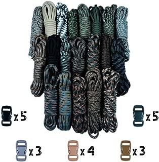 مجموعة باراكورد بلانيت من النوع III مكونة من أطقم صناعة باراكورد بلانيت بوزن 550 رطل، مزودة بأبازيم، للكشافة، ألوان مموهة