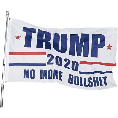TRUMP 2020 FLAG No More Bullshit 12X18 2X3 3X5 4X6 5X8 FEET USA FLAGS America #1
