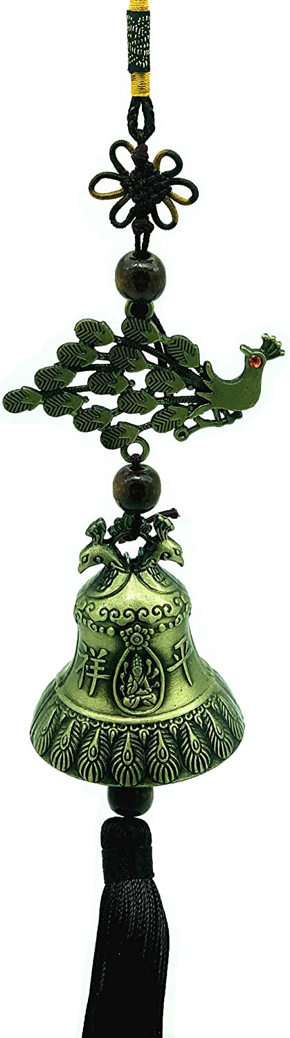 Betterdecor Feng 1 year warranty Shui Peacock Love Bird Max 58% OFF Wind Hanging Chime for L