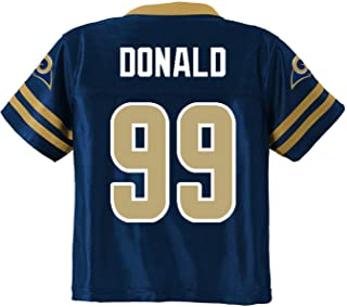 Outerstuff Aaron Donald Los Angeles Rams #99 Navy Blue Youth Home Player Jersey