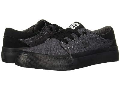 DC Kids Trase TX SE (Little Kid/Big Kid) (Black/Armor) Boys Shoes