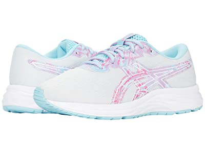 ASICS Kids GEL-Excite 7 (Little Kid/Big Kid) (Glacier Grey/Ocean Decay) Girl