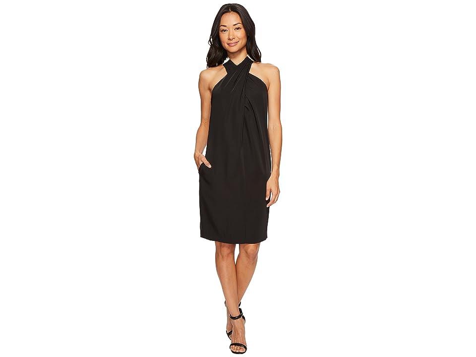 Trina Turk Glencoe Dress (Black/Ivory) Women