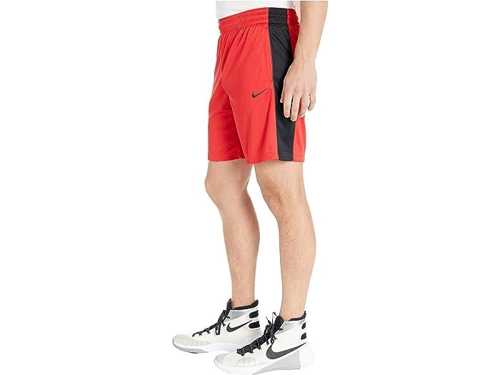 Nike Essential De Shorts Seca University Red/black/dark Smoke Grey