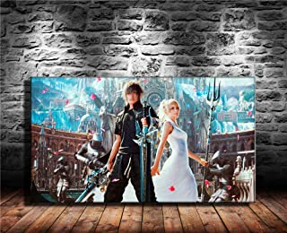 Zjhart HD Printed Oil Paintings Home Wall Decor Art on Canvas,final Fantasy Xv Artwork 4size#452 (Unframed,20x36inch)