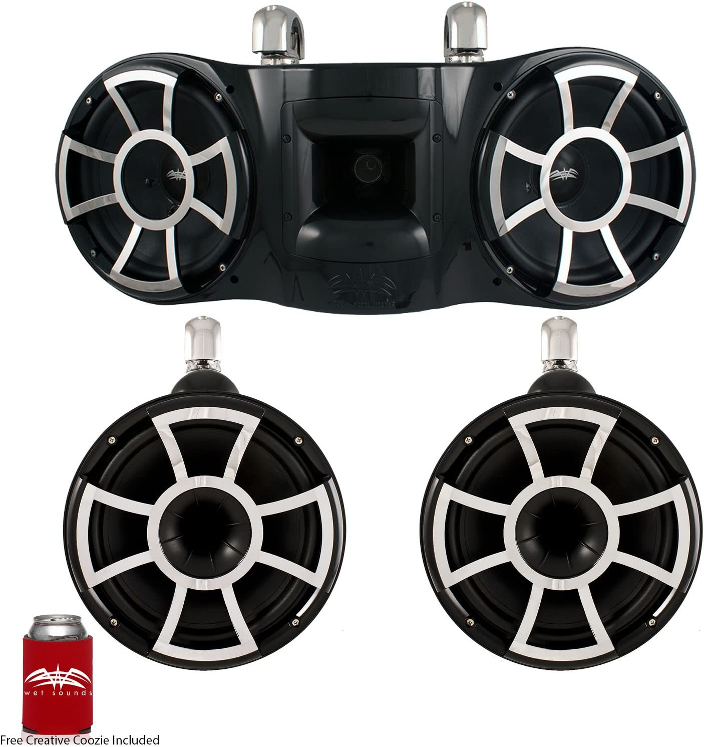 Inexpensive Wet sale Sounds REV 3-Some - A Pair Speakers REV10 of REV41 Tower