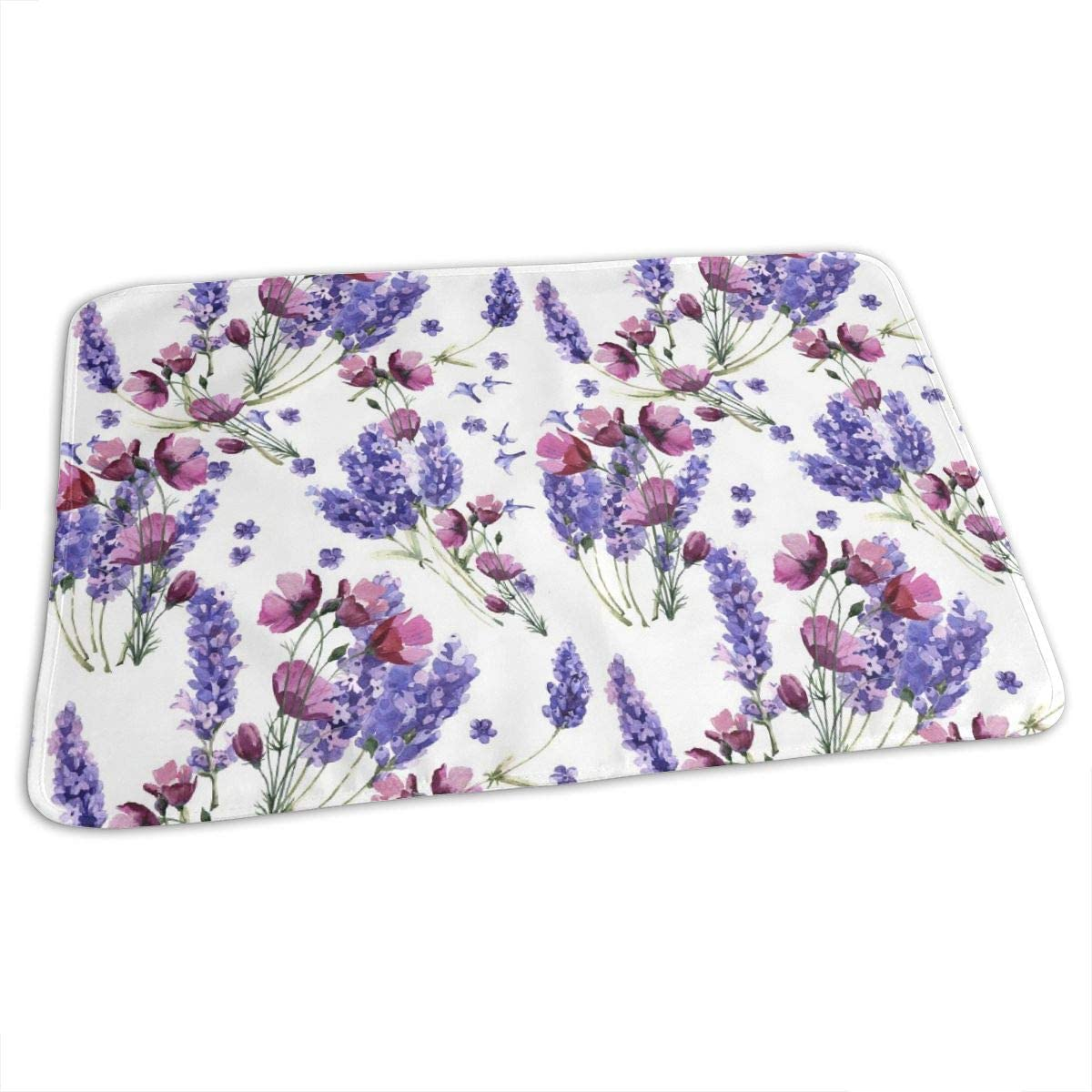 UAJAR Ranking TOP19 Wildflower Lavender Flower Special price for a limited time Baby Pad Cove Changing Reusable