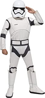 Star Wars VII: The Force Awakens Deluxe Child`s Stormtrooper Costume and Mask, Medium