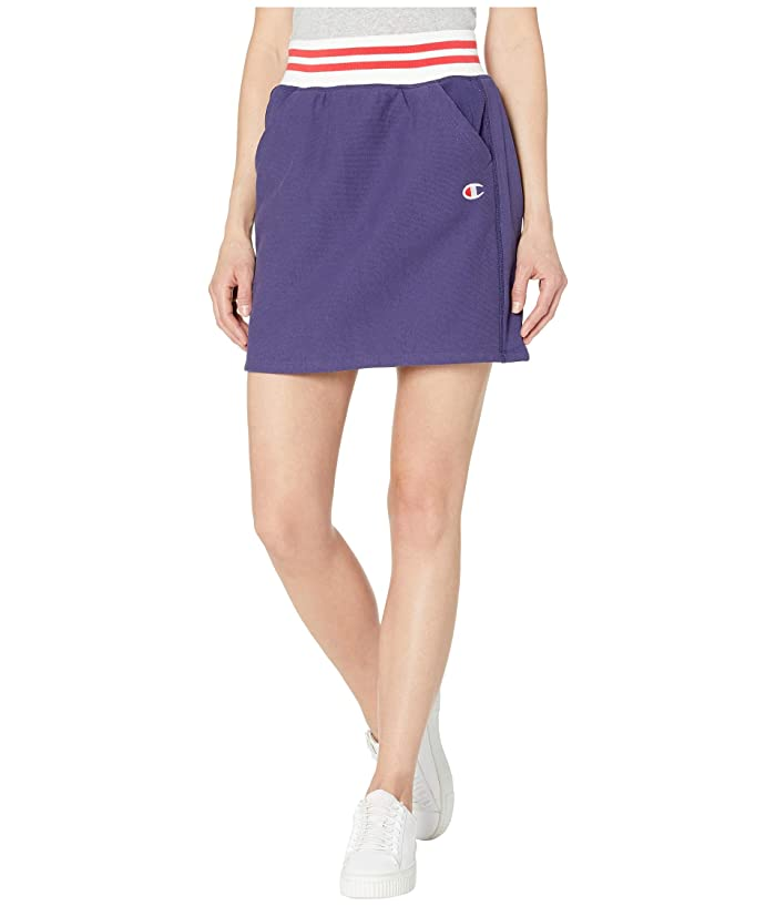 Champion LIFE Yarn-Dye Skirt (Blue Apron) Women