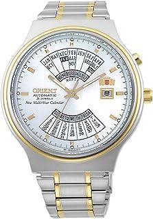 Orient Orologio Analogico Automatico Uomo con Cinturino in Acciaio Inox FEU00000WW