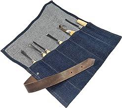 Repurposed Denim Tool Roll el yapımı by Hide & Drink
