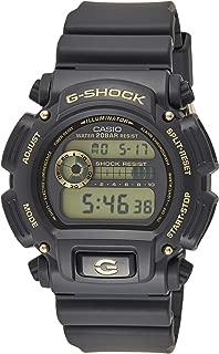 Casio Mens Quartz Watch, Digital Display and Resin Strap DW-9052GBX-1A9DR