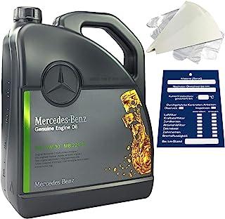 Mercedes-Benz 5W-30 MB 229.51 - Set de aceite de motor original de 5 litros