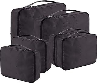 صناديق التعبئة لملحقات السفر حقيبة منظم الأمتعة مجموعة الملابس حمل على حقائب السفر