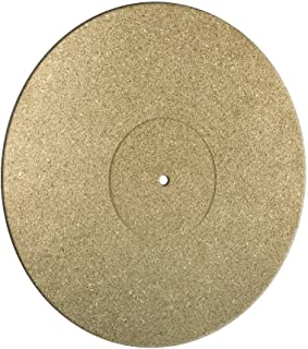 Pro-Spin Cork Turntable Mat for Vinyl LP Record Players (3mm) High-Fidelity Audiophile Acoustic Sound Support | Help Reduce Noise Due to Static and Dust