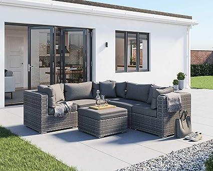 Amazon.com: SUSIE'S GARDEN Outdoor Rattan Patio Furniture