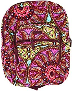 Vera Bradley Campus Backpack with Solid Color Interior