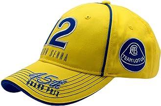 Ayrton Senna Yellow Monaco Hat